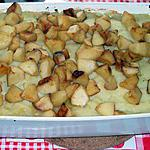 recette Parmentier de canard aux deux pommes