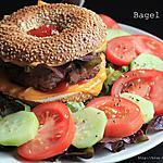 recette Bagel Burger