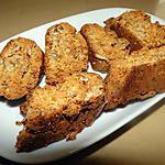 recette Biscotti aux noix et à l'anis