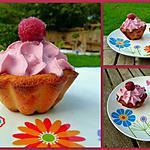 recette Cupcake clafoutis et chantilly au sirop