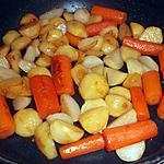 recette Navets et carottes caramélisés