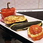 recette petits farcis végétariens à la féta et pignons de pin