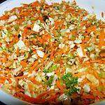 recette Salade style coleslaw avec fenouil, raisins et carvi