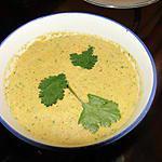 recette Soupe au poulet et aux amandes