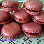 recette MACARONS POUR UN OCTOBRE ROSE