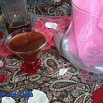 recette THE GLACE AU SIROP DE ROSE