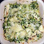 recette L'épinards/Poisson .. d'une autre façon ;-)