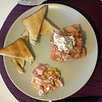 recette Tartare de saumon relevé au poivron