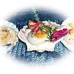 recette Saint jacques sur lit de risotto truffé