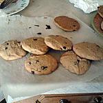 recette 20 cookies au beurre de cacahuète