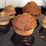 recette Coffee muffins du Bob Juice Bar