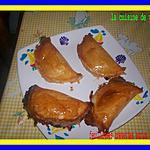 recette feuilletés aux crevettes et coco