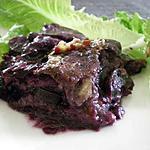 recette Gratin violet au carottes violettes