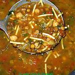 recette Harira soupe Marocaine