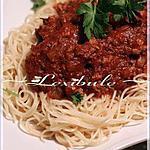 recette Spaghetti italien