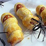 recette des saucisses momie...fiées (halloween)