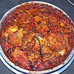 recette Gratin d'aubergines à l'Italienne (aubergines parmigiana)