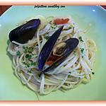 recette Spaghetti aux moules