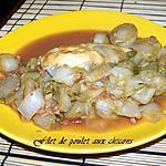 recette poulet aux chicons style brabançonne