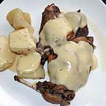 recette lapin en blanquette (ou à la crème fraîche)