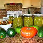recette Relish aux tomates vertes