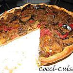 recette Tarte à la ratatouille au thon en croute dorée