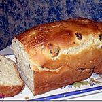 recette Brioche au fromage blanc et raisins secs