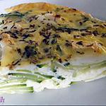 recette Clafoutis courgettes et chèvre