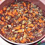 recette Quinoa au carottes et aux figues