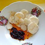 recette Navet cru à l'harissa et huile d'olive