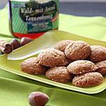 recette Biscuits au miel de sapin, noisettes, cannelle