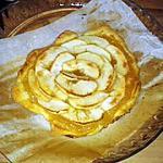 recette Tarte aux pommes/miel rapide et croustillante!