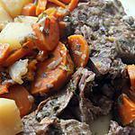 Casserole d'agneau aux carottes