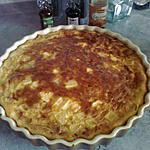 recette flan aux pommes au caramel