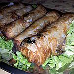 recette Nems aux boeuf et porc