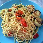 recette Spaghettis sauce tomate-roquette