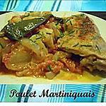 recette Poulet Martiniquais