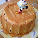 recette CHARLOTTE AU CHOCOLAT (Anniverssaire de SASHA - 4 ans)