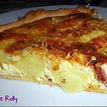 recette Quiche lardons, pommes de terre et comté