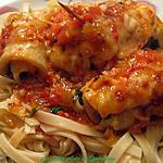 recette Filets de sole au parfum d'Italie