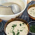 recette Velouté de champignons au micro-onde