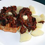 recette Pavés de saumon à l'alsacienne