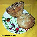recette petits pains au muesli