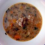 recette Dchicha de queue d'agneau (soupe à l'orge)