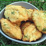 Beignets de morue à la Portugaise (pasteis-bolos de bacalhau)