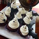recette Cupcakes d'Halloween fantômes