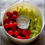 recette Légumes à croquer, pique-nique pour voyager