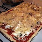 recette Pizza à la mozzarella de bufflonne