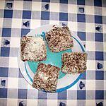recette petits fours aux  noix de coco