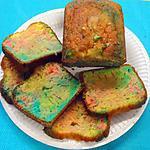 recette Cake arc en ciel
